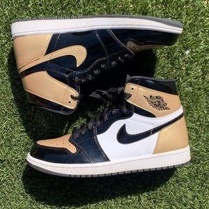 Jordan Shoes - Air jordan 1 gold toes